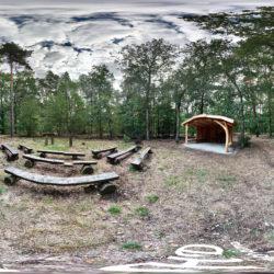 Der Friedwald - Bestattungen in der Natur - 360˚ HD-Panorama © René Blanke