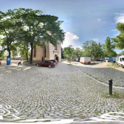 Markttag auf dem Weberplatz in Potsdam-Babelsberg - 360˚ HD-Panorama © René Blanke
