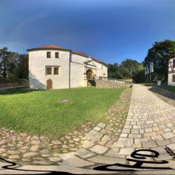 Schloss und Festung Senftenberg - 360˚ HD-Panorama © René Blanke