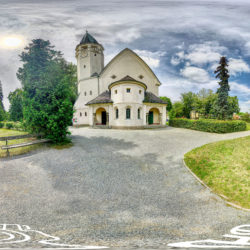 Martin-Luther-Kirche in Zeuthen - 360˚ HD-Panorama © René Blanke