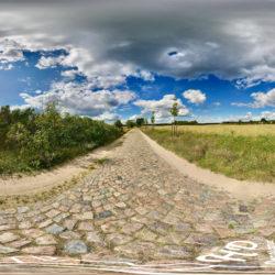 Idyllische Landstrasse inmitten der Uckermark - 360˚ HD-Panorama © René Blanke