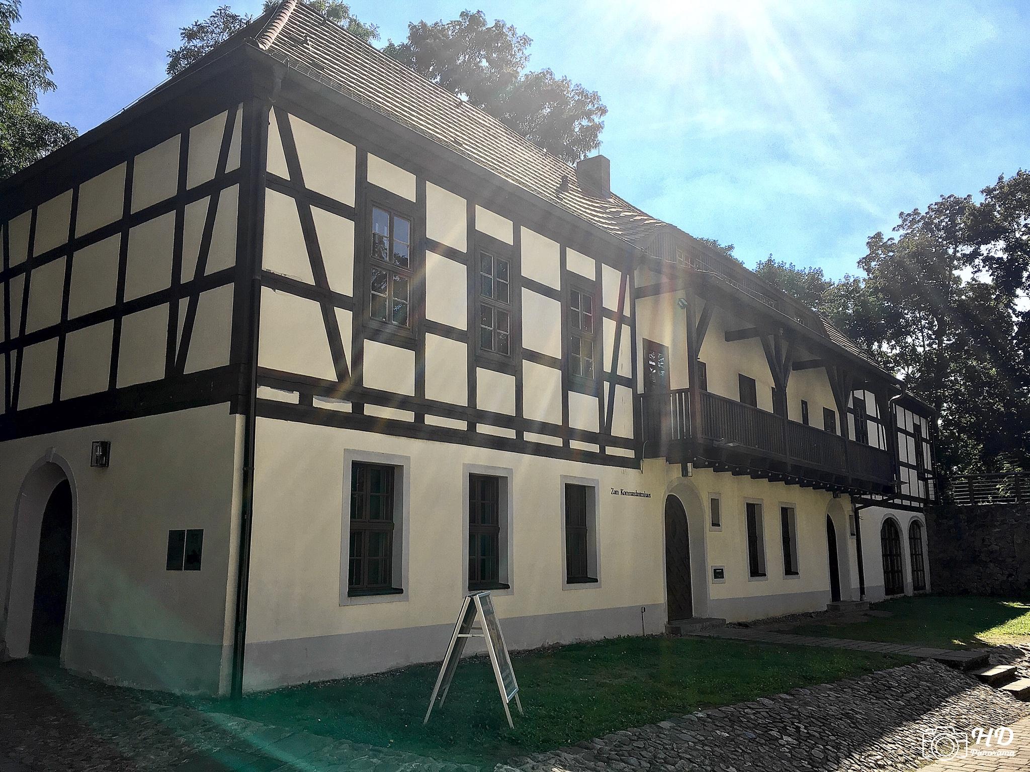 Das Kommandantenhaus am Schloss und Festung Senftenberg, Foto © René Blanke