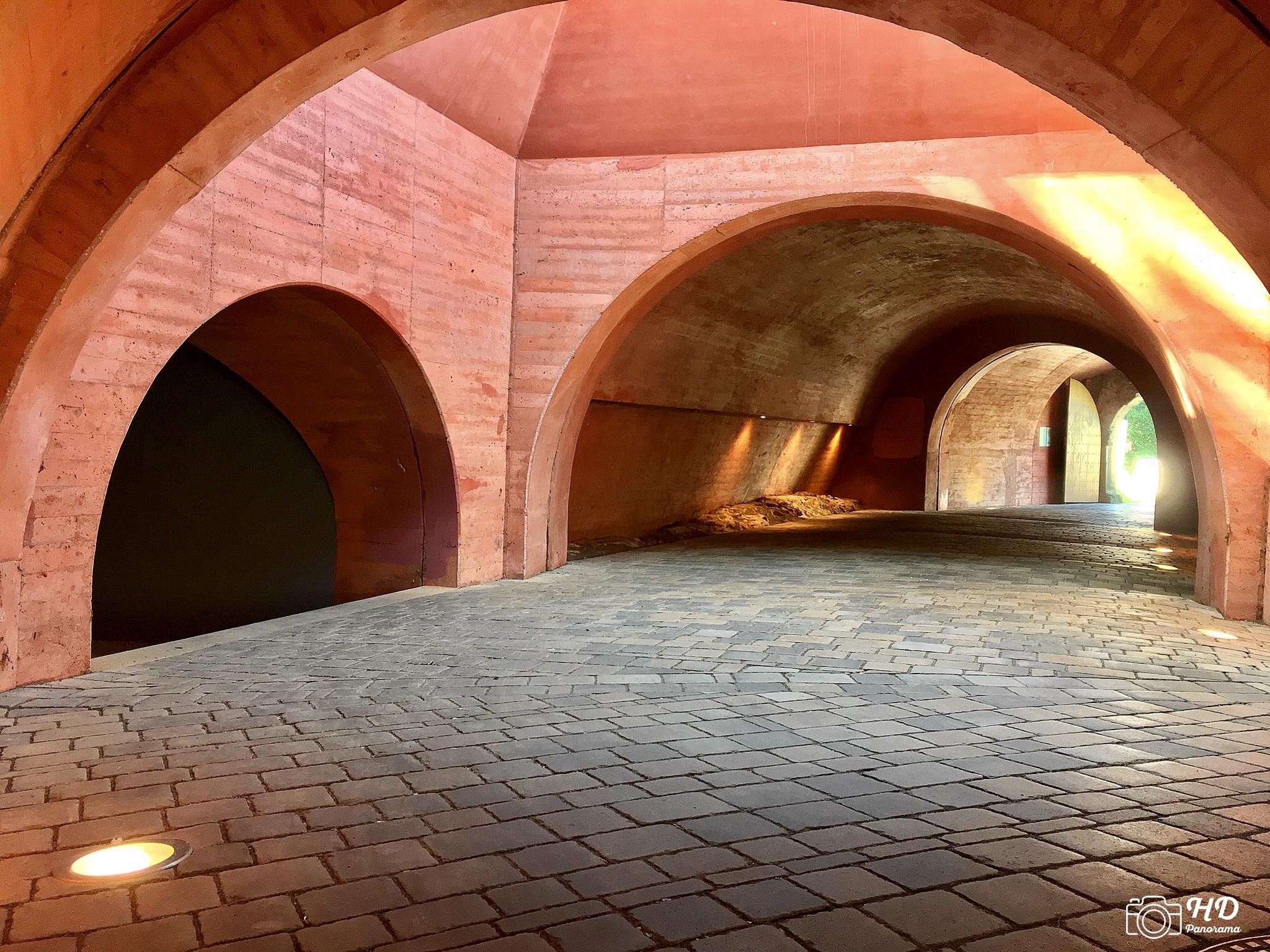 Schloss und Festung Senftenberg, Torgewölbe mit Kasematten, Foto © René Blanke