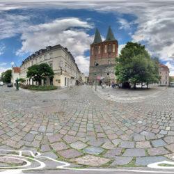Berlin - Nikolaiviertel mit Nikolaikirche - 360˚ HD-Panorama © René Blanke