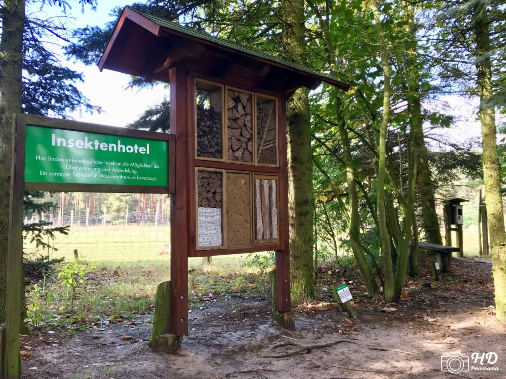 Der Wildpark Johannismühle in Baruth/Mark, hd-panorama.de Foto: René Blanke