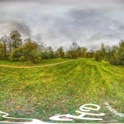 Park Babelsberg - Bunte Herbstfarben - 360˚ HD-Panorama © René Blanke