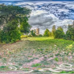 Panorama Potsdam im Park Babelsberg - Der Flatowturm - 360˚ HD-Panorama © René Blanke Panoramafotograf