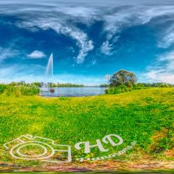 Panorama Park Babelsberg an der Wasserfontäne - 360˚ HD-Panorama © René Blanke Panoramafotograf