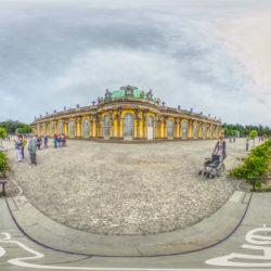 Panorama Schloss Sanssouci in Potsdam - 360˚ HD-Panorama © René Blanke