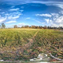Panorama Potsdam im Park Babelsberg - Am Kindermannsee mit Blick auf den Flatowturm - 360˚ HD-Panorama © René Blanke