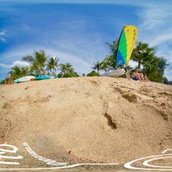 Beach Ban Khao Lak Phang Nga (Thailand) - 360˚ HD-Panorama © René Blanke
