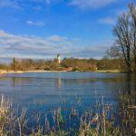 Panorama Kindermannsee im Park Babelsberg mit Blickrichtung auf den Flatowturm - HD-Panorama © René Blanke