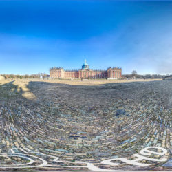 Panorama Neues Palais in Potsdam - 360˚ HD-Panorama © René Blanke Panoramafotograf