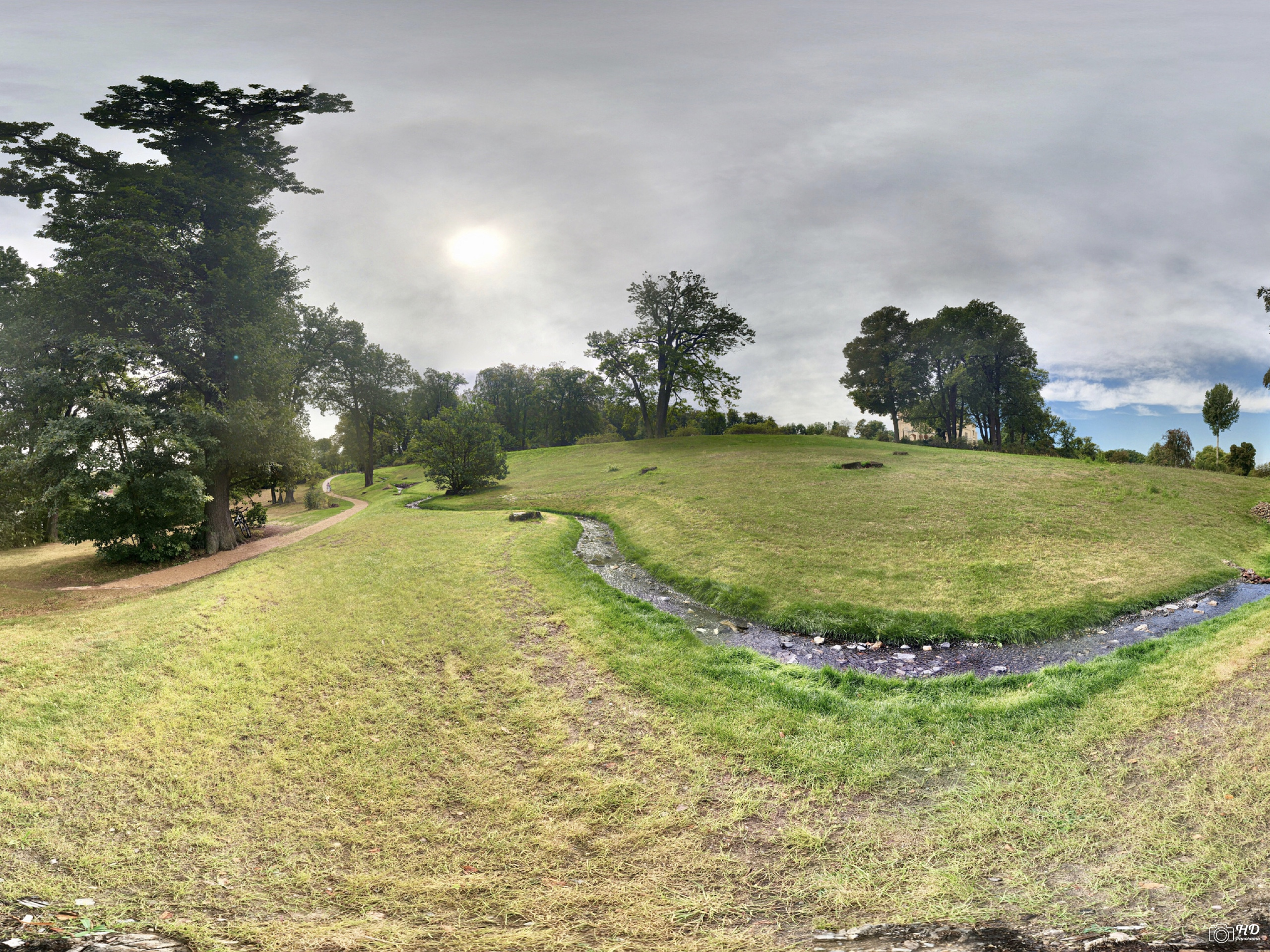 Park Babelsberg - Pleasureground am Schloss Babelsberg - 360˚ HD-Panorama © René Blanke