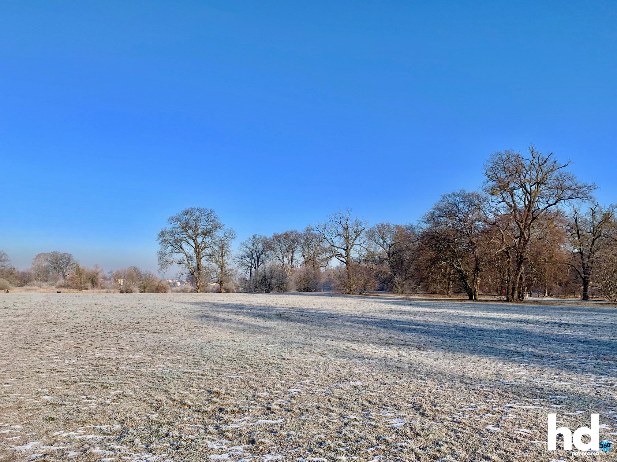 Park Babelsberg: Alles sehr frostig - HD-Panorama © René Blanke