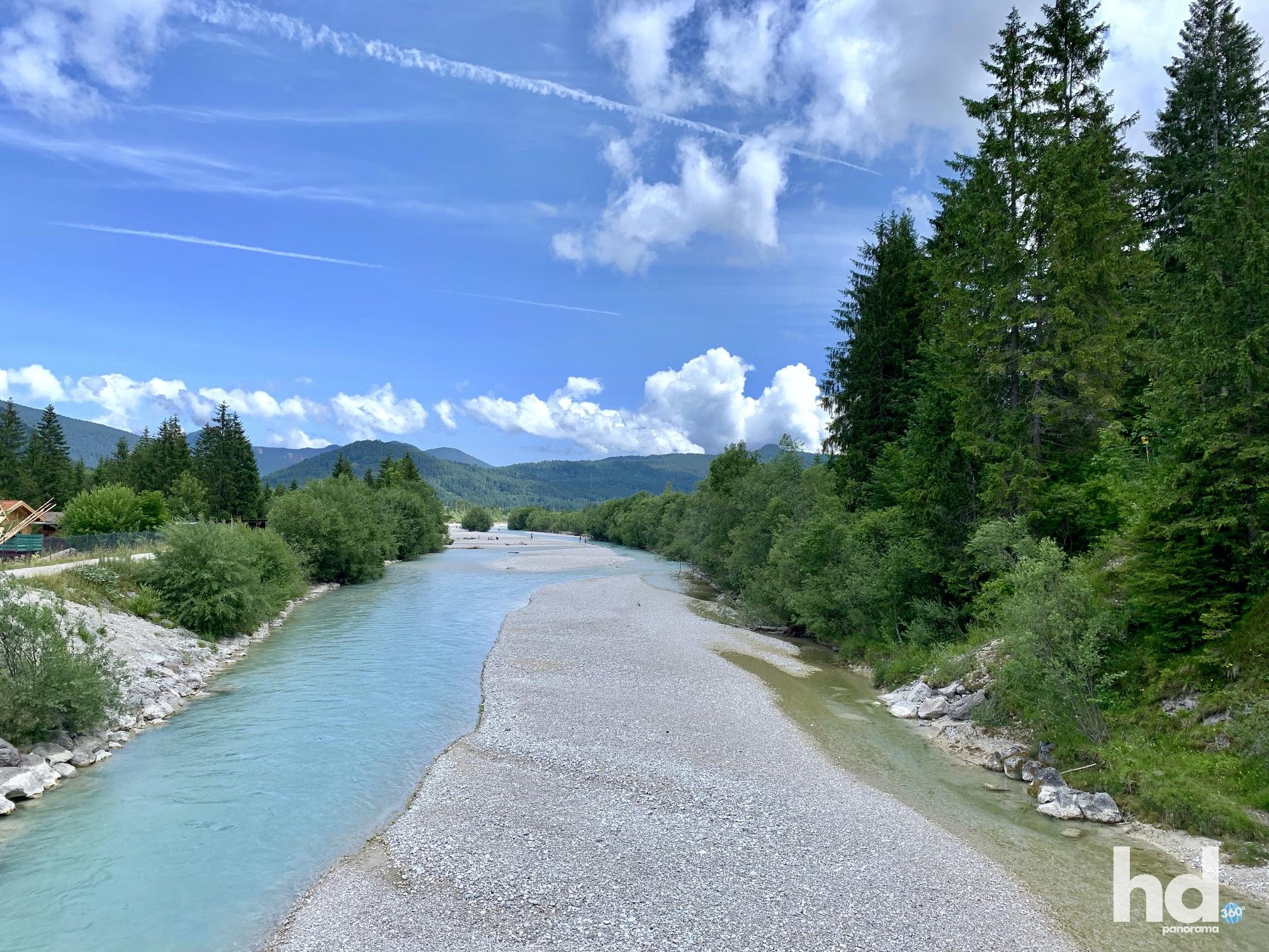 Das Quellgebiet der Isar, Gemeinde Krün, Foto © HD-Panorama