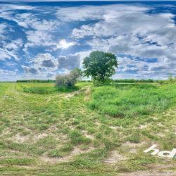 Güterfelde Rieselfelder zur Apfelblüte - 360˚ HD-Panorama © René Blanke Panoramafotograf