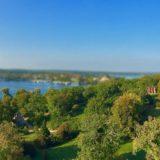 Park Babelsberg im Miniatur-Panorama, tiltshift, HD-Panorama