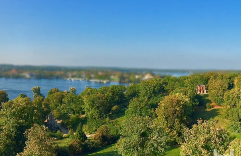 Park Babelsberg als Miniatur-Panorama