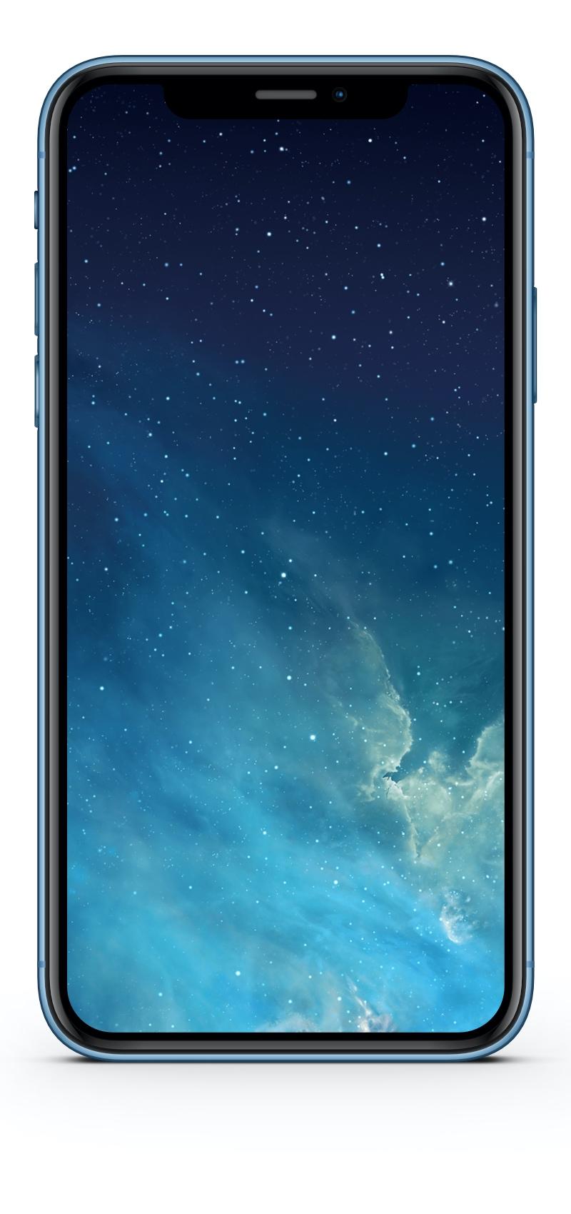 "Hintergrundbild (Wallpaper) ""iPhone 5"" (iOS 7) optimiert für iPhone XR"