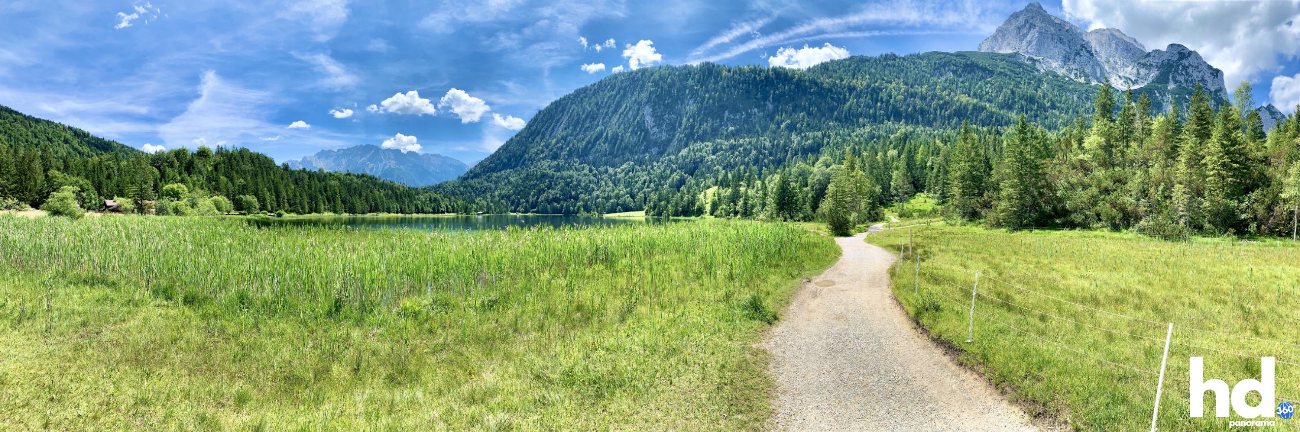 Ferchensee Mittenwald - Foto © HD-Panorama