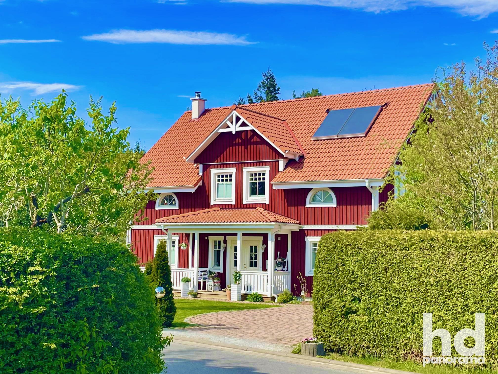 Schönes Schwedenhaus © Foto René Blanke